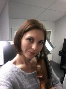 prof. Galina Panayotova, fiolinlærer Oslo