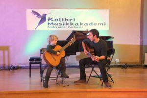 gitarundervisning med gitarlærer, gitartimer
