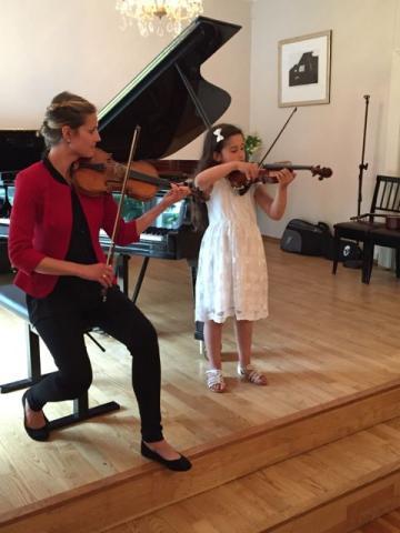 Fiolinundervisning