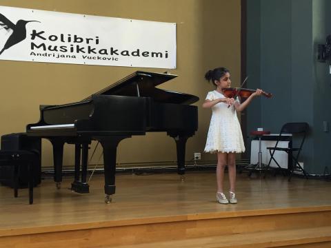 Fiolinundervisning Oslo Sommerkonsert