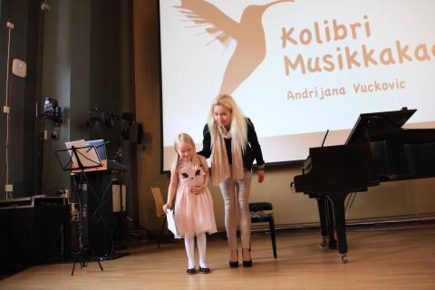 Musikkskole Oslo Sommerkonsert piano barn