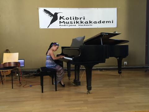 Pianoundervisning Oslo Sommerkonsert