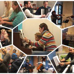 musikkskole konsertforberedelser pianotimer, fiolintimer, cellotimer, gitartimer, cellotimer