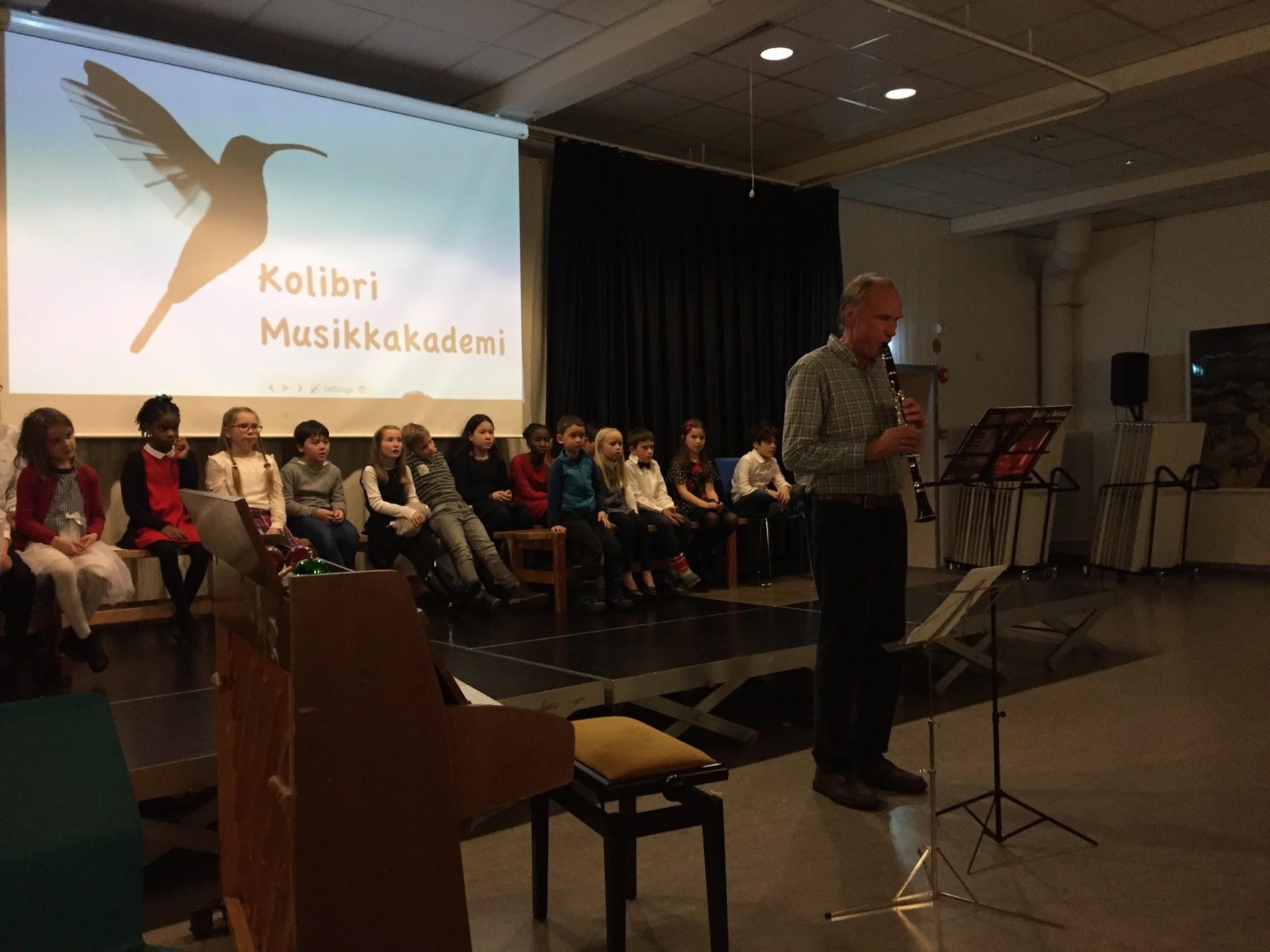 musikkskole Julekonsert- klarinett voksen elev