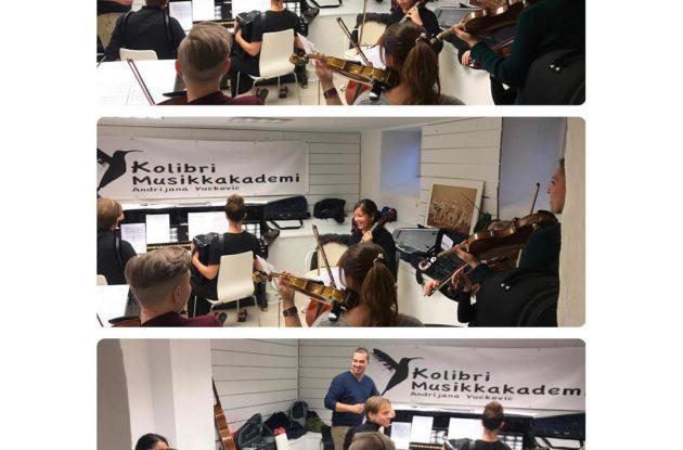 orkester fro voksne elever musikkopplæring voksne fiolin cello trekkspill, fiolinlærer, cellolærer, trekkspillærer