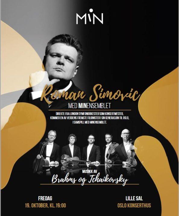 konsert, Oslo Konserthus, konserttilbud, fiolin, fiolinist, MiNensemblet