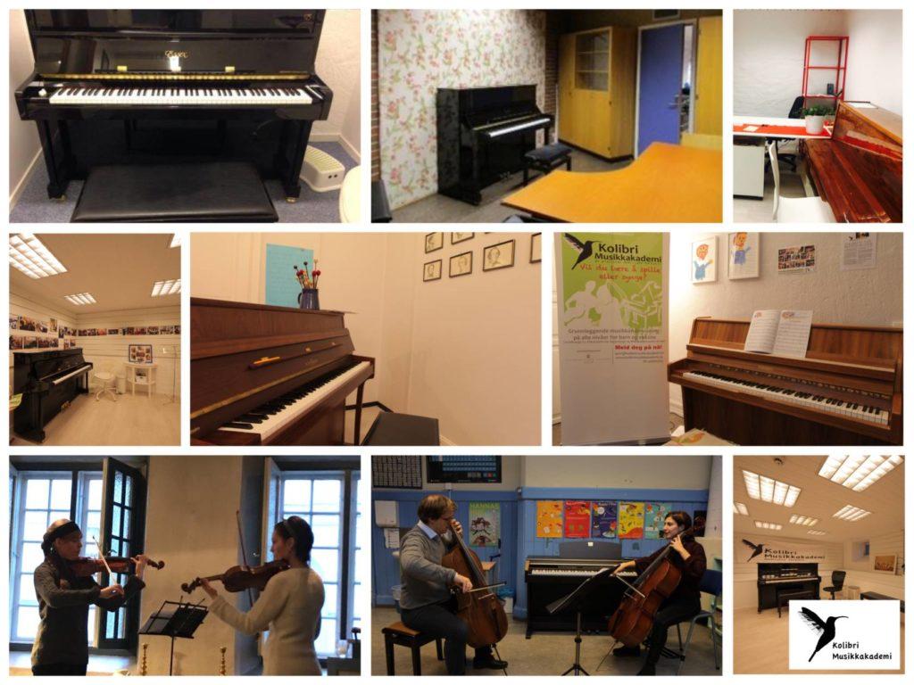 Kolibri musikkstudioer. Musikkskoler i Oslo og Stavanger.