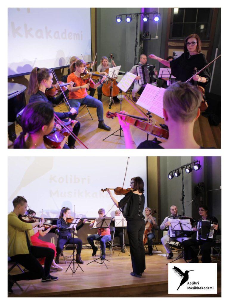 orkester for voksne elever voksenopplæring, strykeorkester for voksne i Oslo