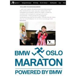 Kolibri Musikkakademi. Oslo Maraton. Oslo Marathon. BmwOslomaraton. Pianolærer, fiolinlærer, fiolinelev. Liv i løypa. Musikkskolen Oslo Sentrum. Music school Oslo