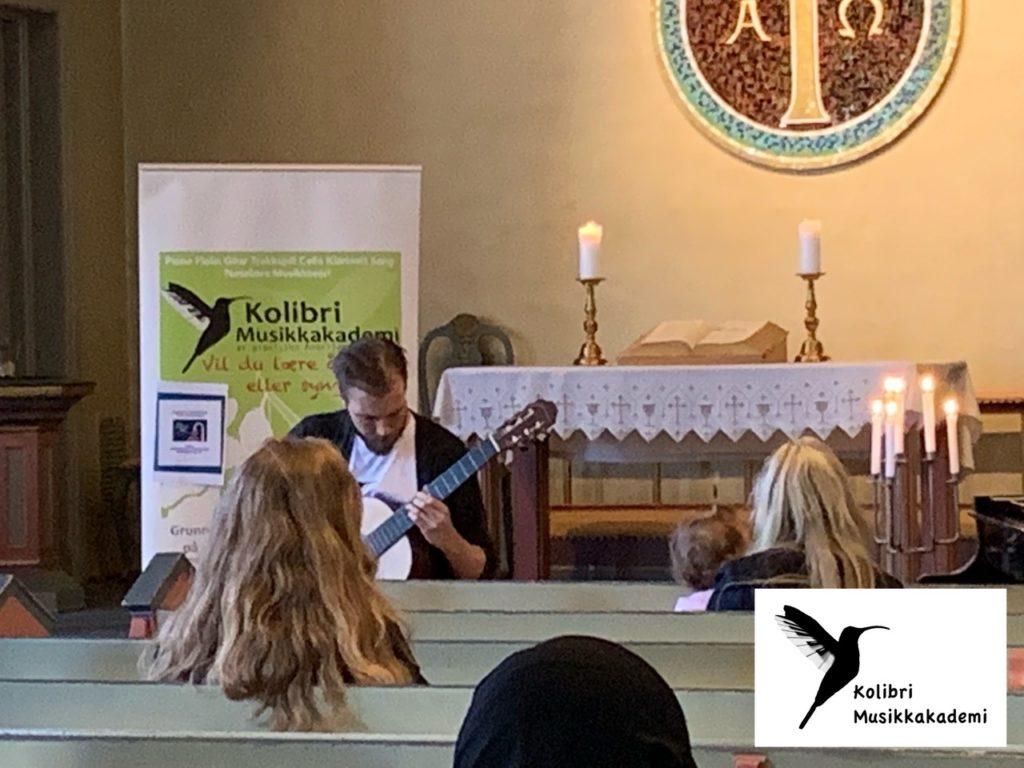 Oslo kulturnatt konsert med gitarlærer Oslo, lær å spille gitar i Oslo
