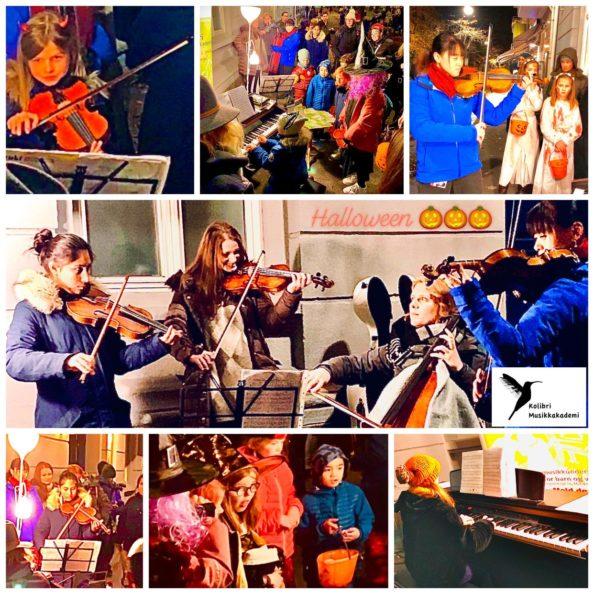 Halloween med musikkskolens elever Halloween musikkskolen Oslo lær å spille