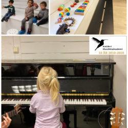 Luke 11. Musikklek- musikkintroduksjon kurs for små barn