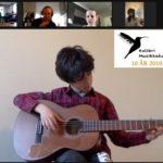 Ivo 13 år spiller gitar