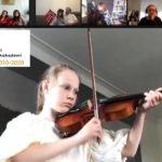 Liv spiller fiolin