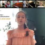 Marielle 11 år singer