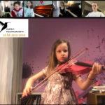 Michelle spiller fiolin 7 år