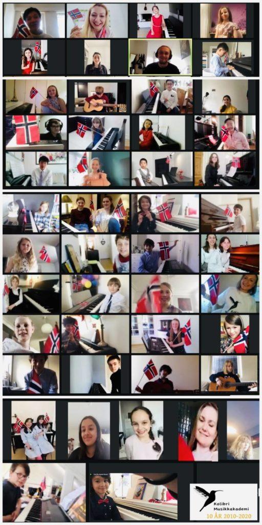 fellesbilde, musikkskolen Oslo, musikkskolen Stavanger musikkskolen Oslo og Stavanger gitarkurs, pianokurs sangkurs, fiolinkurs